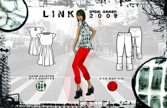 Jenna Galecki Fashion Designer Link Sportswear Collection